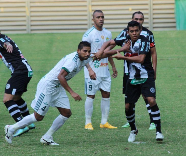 94efb9e8dd Zagueiros marcam e dão vitória ao Cuiabá diante do ASA na Arena Pantanal